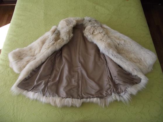 Très belle veste en loup véritable - Photo 3