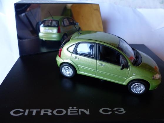 Annonce occasion, vente ou achat 'CITROEN C3 NOREV 1/43ème'