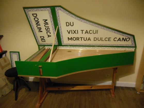 Annonce occasion, vente ou achat 'Vends clavecin flamand à 1 clavier'