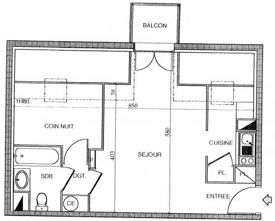 Appartement 36m2 Villeneuve sur Yonne