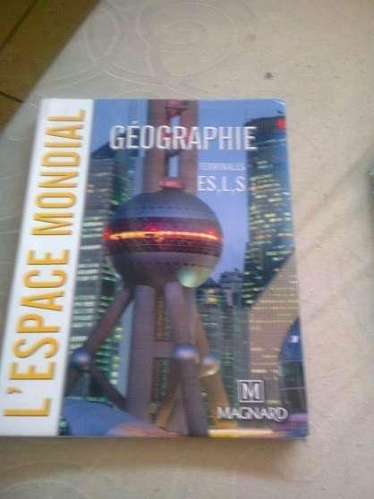 Annonce occasion, vente ou achat 'livre de géographie'