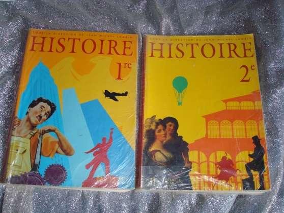 Lot de manuels scolaires