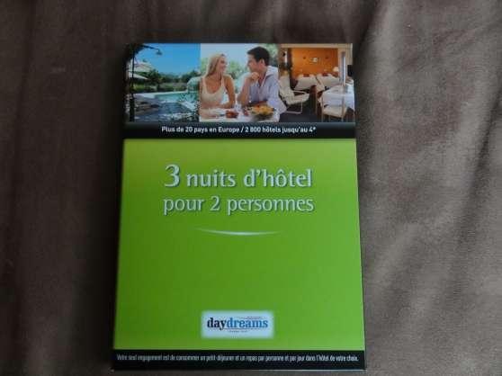Coffret 2 nuits d'hotel pour 2 personnes