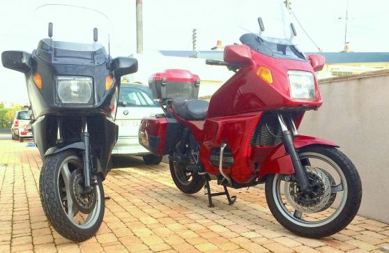 Bmw k1100 lt 2 motos une rouge annee1995 moto scooter v lo motos bmw fleury les aubrais for Comfleury les aubrais code postal