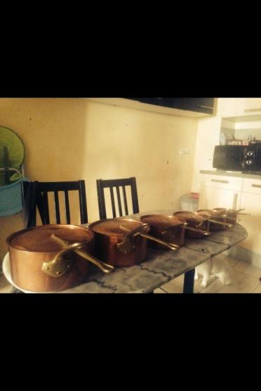 casserole en cuivre - Annonce gratuite marche.fr