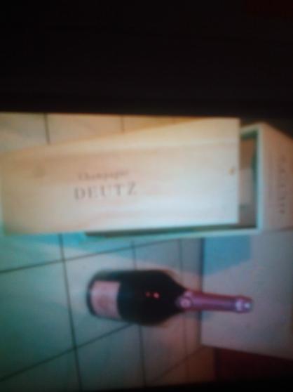 Annonce occasion, vente ou achat 'Champagne rose deutz'