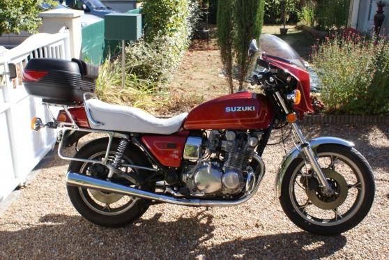 Annonce occasion, vente ou achat 'SUZUKI 850 GS de 1979'