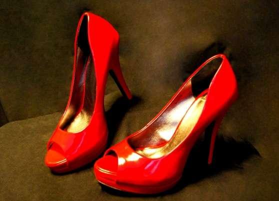 escarpins ESPRIT rouge