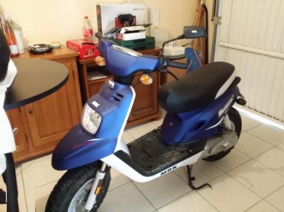 Mbk spirit booster 50 cc bleu 1ere main moto scooter - Location meuble bourgoin jallieu ...