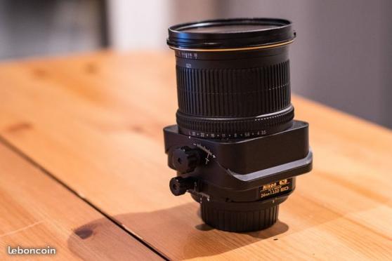 Petite Annonce : Nikon 24mm pce pc-e - Objectif NIKON 24mm f3.5 PCE  Objectif 24mm ouverture f3.5 Bascule