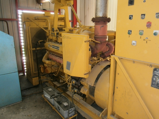 Annonce occasion, vente ou achat 'Groupe electrogene caterpillar 600Kva'