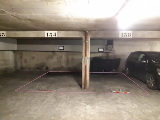 2 parkings mitoyens 75019