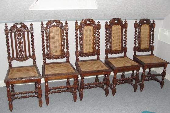 chaises anciennes - Annonce gratuite marche.fr