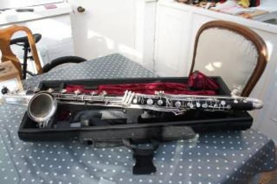 Annonce occasion, vente ou achat 'Clarinette basse Selmer à l'ut grave Pri'