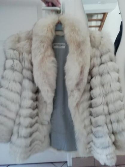 Annonce occasion, vente ou achat 'Manteau fourrure renard bleu 38/40'