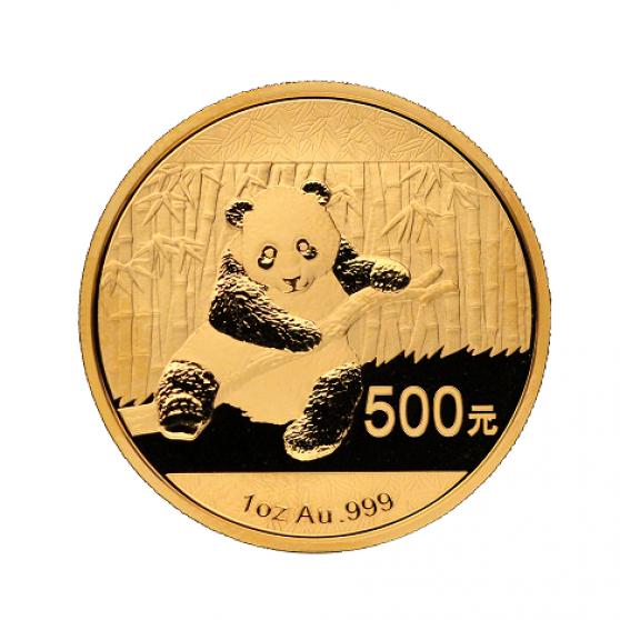 Pièce d'or Panda Chinois (31,103g)