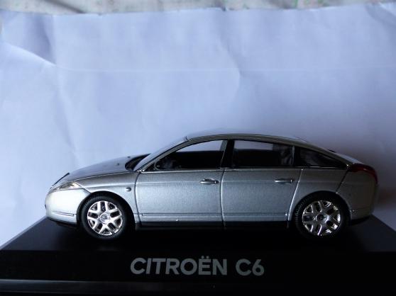 Annonce occasion, vente ou achat 'CITROEN C6 NOREV 1/43ème'