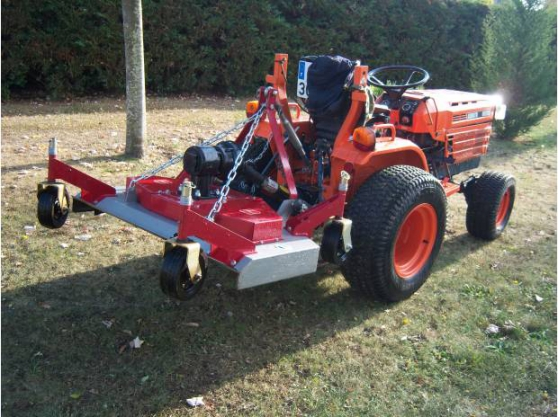 Annonce occasion, vente ou achat 'Tracteur KUBOTA - B6200'