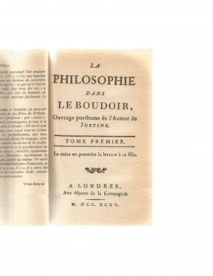 LA PHILOSOPHIE DANS LE BOUDOIR - Photo 3