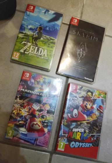 Nintendo Switch+ Manette + Câbles TV/Ali - Photo 2