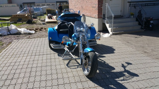 Annonce occasion, vente ou achat 'Rewaco Trike HS5 1600ccm.'