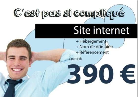 Création de votre site internet dés 390€