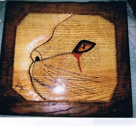 Annonce occasion, vente ou achat 'tableaux sculpter et pyrograver sur bois'