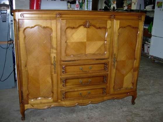 buffet bas en meurisier l vis st nom antiquit art brocantes meubles anciens l vis st. Black Bedroom Furniture Sets. Home Design Ideas