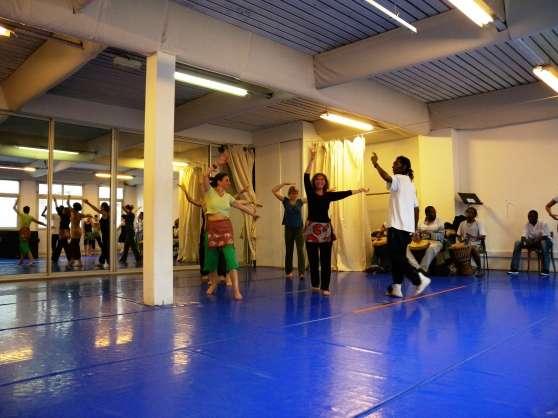 cours de danse africaine à Paris