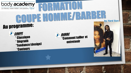 Formation Coupe Hommes Barber