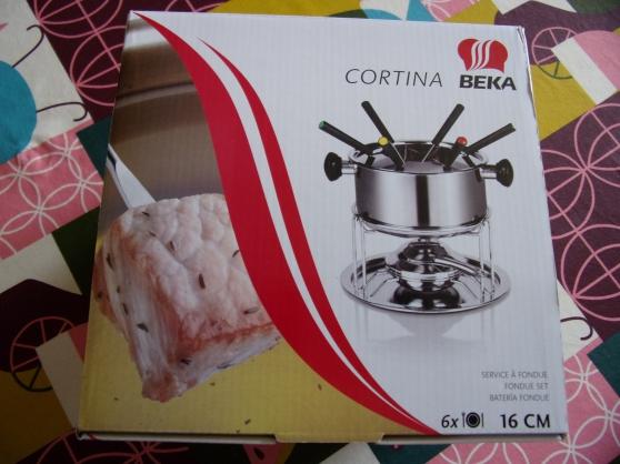 service fondue inox béka cortina - Annonce gratuite marche.fr