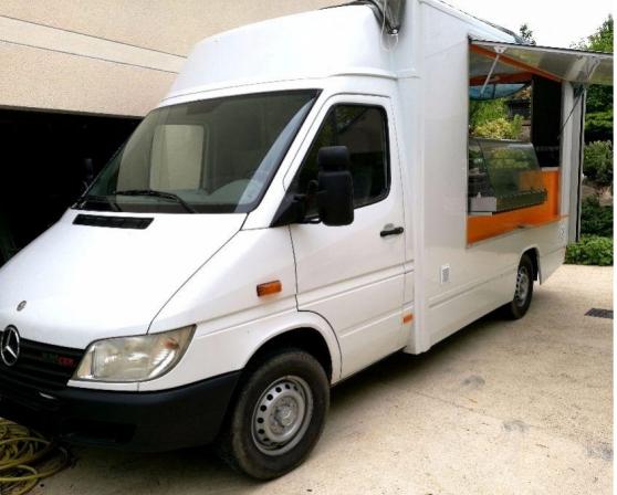 mercedes sprinter magasin food truck - Annonce gratuite marche.fr