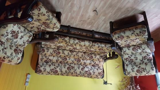 canapé + fauteuil - Annonce gratuite marche.fr