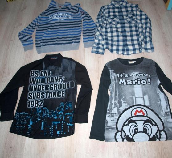 b4c4eda09371e a saisir   lot vêtements garçon 14 ans à l  hermitage - Annonce gratuite ...