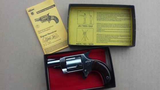 Annonce occasion, vente ou achat 'Revolver alarme Rohm Little Joe 6mm'