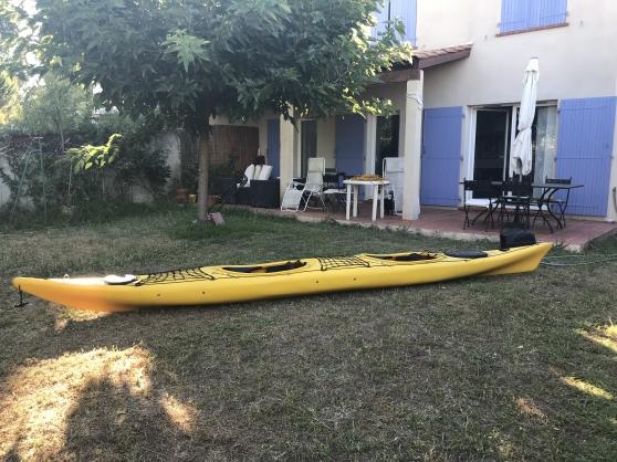 Kayak Atlantis Biplace expédition Rainbo