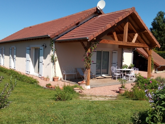 Maison plain-pied 10 min Paray-le Monial