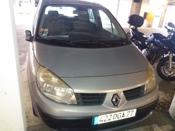 Renault Scenic 1.6 16V – pédale embr. HS