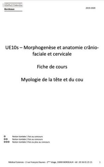 Annonce occasion, vente ou achat 'Cours paces Bordeaux 2020 VS outre mer'