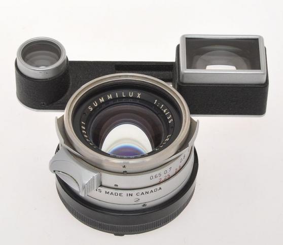 Annonce occasion, vente ou achat 'Leica (Leitz) rare Leica lens 35/1.4'