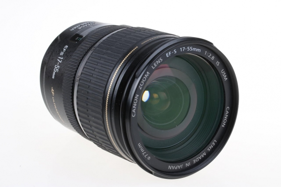 Annonce occasion, vente ou achat 'Zoom Canon 17-55 mm EF-S f/2.8 IS USM'