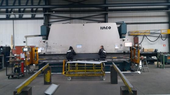 Presse plieuse HACO 6 m x 300 tonnes