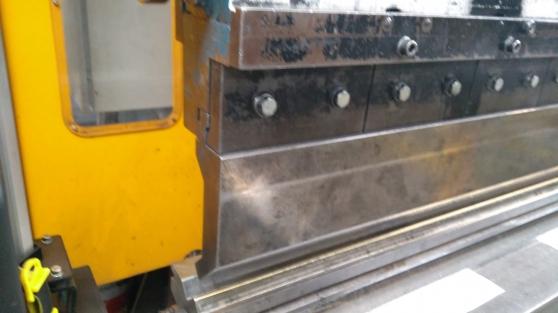 Presse plieuse HACO 6 m x 300 tonnes - Photo 4