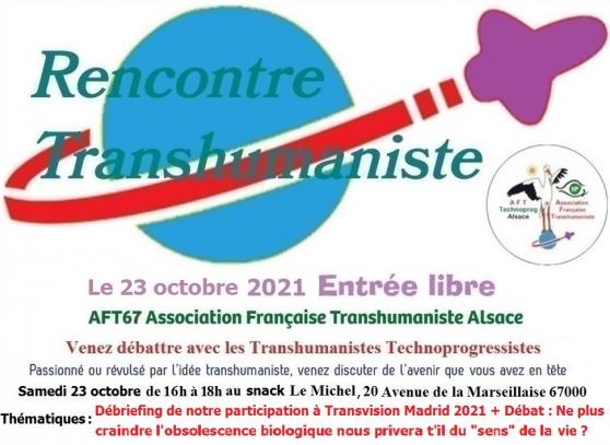 Annonce occasion, vente ou achat 'Retour sur Transvision Madrid + Débat'