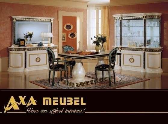 salle a manger italien axa laqu versace meubles. Black Bedroom Furniture Sets. Home Design Ideas