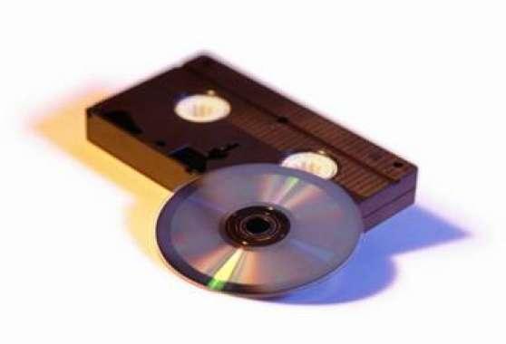 transfert cassettes vhs ou vhsc vers dvd audio t l. Black Bedroom Furniture Sets. Home Design Ideas