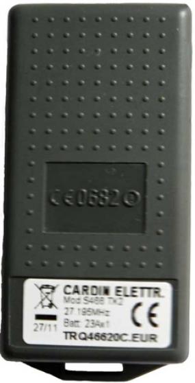 Télécommande CARDIN S466-TX2 27,195Mhz - Photo 3