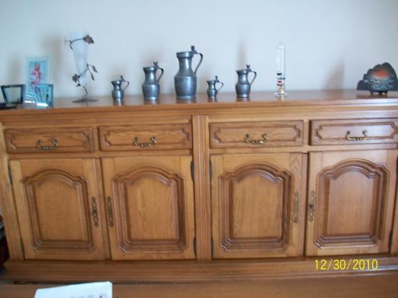 Salle manger rustique maubeuge meubles d coration for Decoration salle a manger rustique