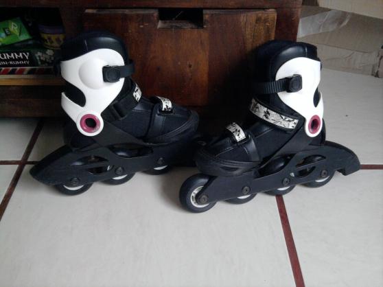 Annonce occasion, vente ou achat 'vends paire de roller taille 30/32'