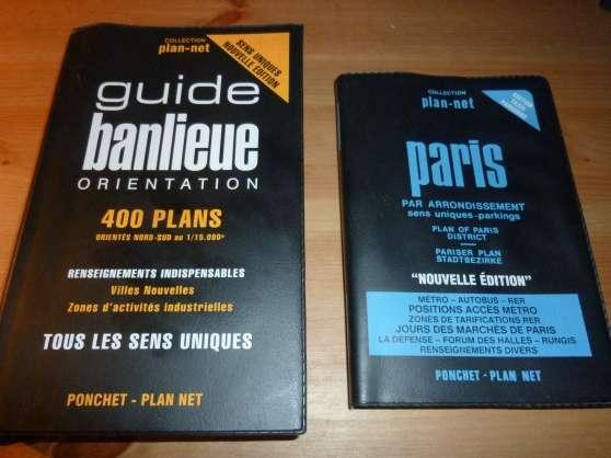 Annonce occasion, vente ou achat 'plan de paris'